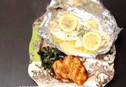 Grilled Sole Fillets En Papillote