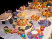 Kiddies party foods