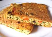 Baked Mashed Potato And Vegetable Omelette