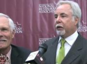 Food Channel Exclusive Interview With Ted Turner At The National Restaurant Association, Chicago
