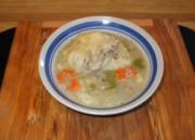 Leftover Chicken and Dumplings