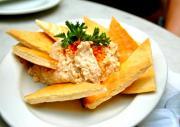 Hummus With Toasted Pita