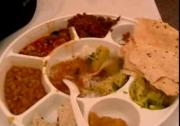 Food at an Indian Wedding