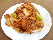 Broiled Dijon Grouper