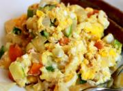 Quick Egg And Veggie Scramble