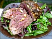 Easy Dinner Recipes - Roast Lamb With Garlic And Rosemary