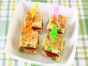 Tuna Egg Bite-Size Tamagoyaki Sandwich