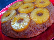 Big V's Pineapple Upside Down Cake