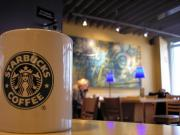 Man turned violent against Starbucks