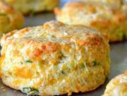 Cheddar Scallion Buttermilk Biscuits To Celebrate National Buttermilk Biscuit Day