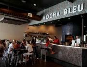 The warm ambience of Mocha Bleu