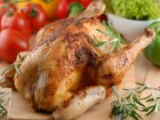 Cold Mustard Roasted Chicken