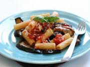 Rigatoni with Eggplant and Pureed Tomatoes