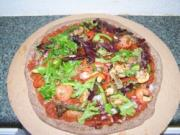 Making Bervin's Healthy Pizzas