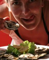 Have fun eating raw oyster