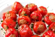 Sausage Stuffed Cherry Pepper Poppers