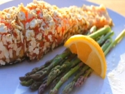 The Posh Pescatarian: Mustard & Matzo Crusted Salmon