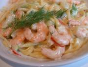 Linguine with Shrimp and Sun Dried Tomatoes