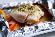 Fresh Tuna Baked In Foil