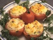 How to make Bake Tomatoes with Crabmeat