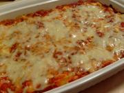 Baked Ziti With Spaghetti Sauce