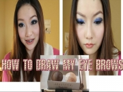 How To : How I Fill in My Eyebrows - Step by Step Demo (Asian Girls)