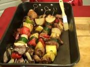 Marinated Kobobs in page 151 of Rosalie Serving Country Cook