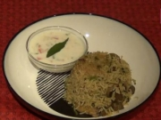 Mushroom Pulao - Indian Flavored Rice Dish