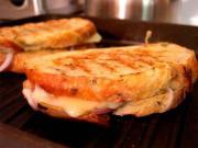 Lattice Cheese Sandwiches