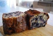 Blueberry Oat Bran Loaf