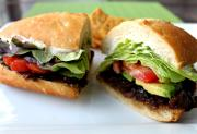 Bacon Jam, Avocado, Lettuce and Tomato Sandwich