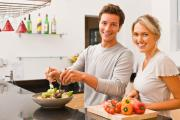 Home cooking increases your life span.