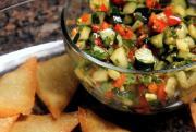Salsa & Wonton Chips
