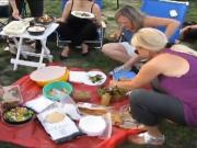 Brookdale Park Picnics on Independence Weekend