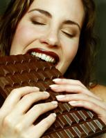 Chocolate helps you during workouts