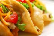 Puffy tacos served as a breakfast item