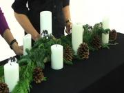 How to Make Evergreen Holiday Garlands