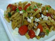 Quick Zucchini & CherryTomato Pasta Salad