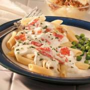 To savor Crab Alfredo - Infuse strong flavors