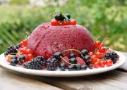Low Fat Berry Pudding
