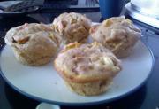 Rhubarb Patch Muffins