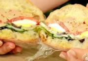 Classic French Pan Bagnat Sandwich