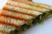 Low Calorie Vegetable Sandwich