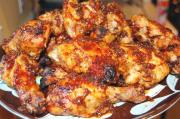 Picnic Chicken With Barbeque Sauce