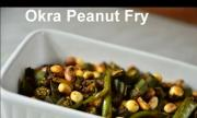Okra Peanut Fry