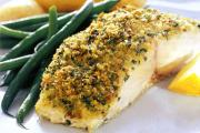 Delicious baked fish in Brazilian cuisine