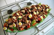 Spring Vegetable Salad Nicoise
