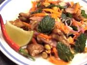 Thai Catfish And Peanut Salad