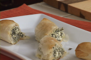 Spinach And Cheese Roll