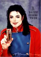Michael Jackson Mystery Drink